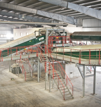 Processing and recycling factory in Aruba