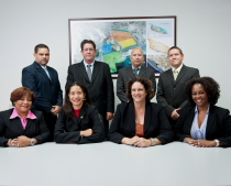 Image of the FZA team