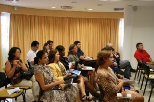 Attendees at the presentation of Free Zone Aruba