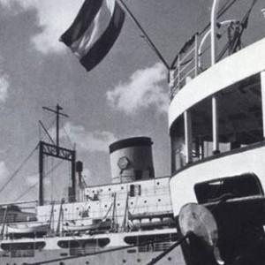 Dutch Ship in harbor Aruba