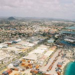 Current View of Oranjestad Port