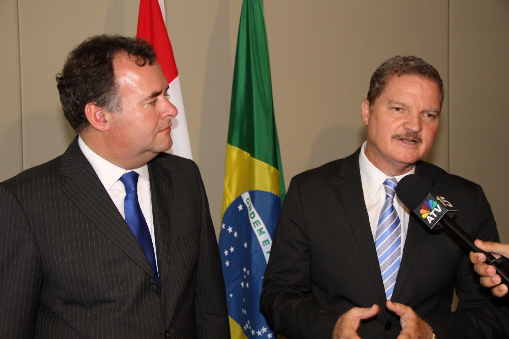 Hans Biesheuvel and Mike Eman