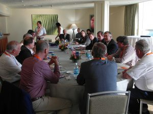 Bert Vermaas welcomes Dutch delegation