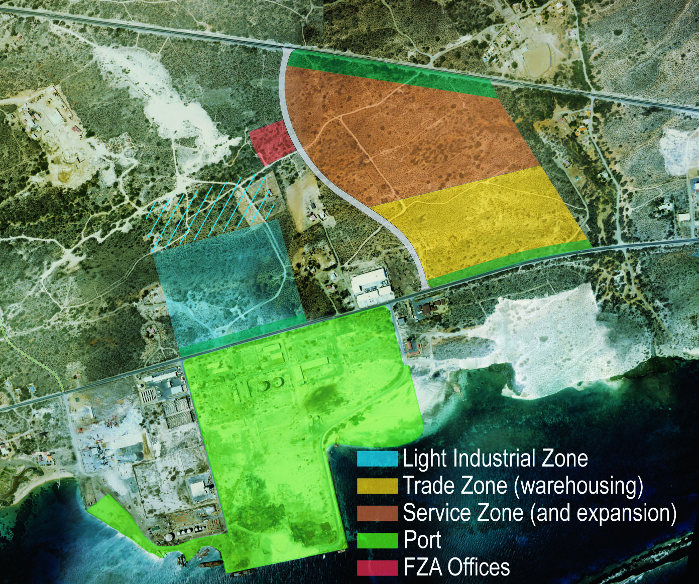 Barcadera Port and Free Zone Aruba