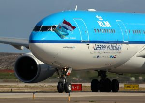 KLM first biofuel flight arrives on Aruba