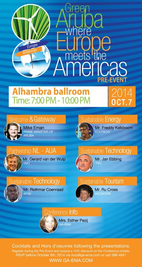 GreenAruba Where Europe Meets The Americas Pre-Event