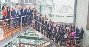 Trade mission delegation